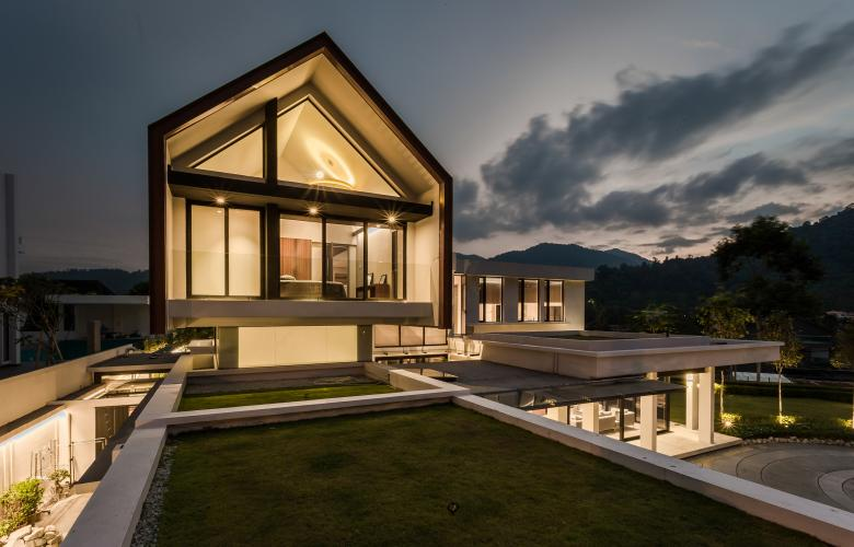 A3 Projects Design Suspended Barn House In Malaysia Re Talk Asia