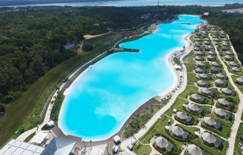 Crystal Clear Lagoon Is The Star Attraction At Treasure