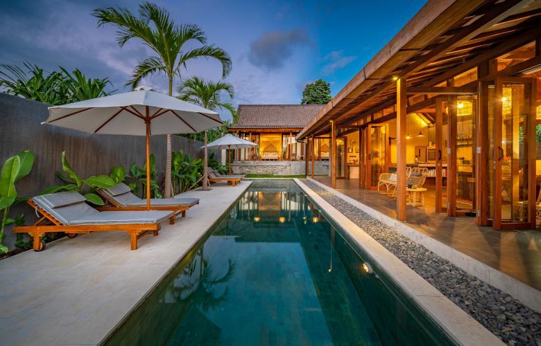 Tiying Tutul Pererenan Ba Indonesia Modern Bali Villa For Sale In A Tranquil Canggu Village The Real Estate Conversation