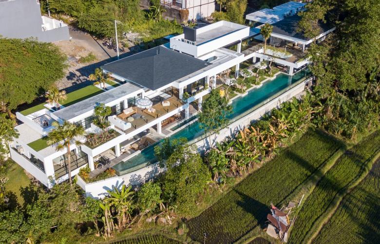 Pererenan Canggu Ba Indonesia Green Belt Views From A Luxurious Bali Villa For Sale Close To Pererenan Beach The Real Estate Conversation