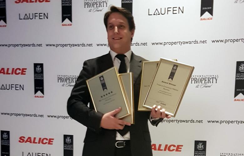 Five wins for Slade Property Services at the Asia Pacific